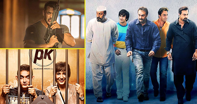 Sanju Is On The Way To Overtake Box Office Collection Of Tiger Zinda Hai And PK