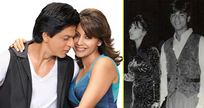 The Throwback Picture Of Shah Rukh Khan And Gauri Shows Is Nothing Less Than A Fairytale