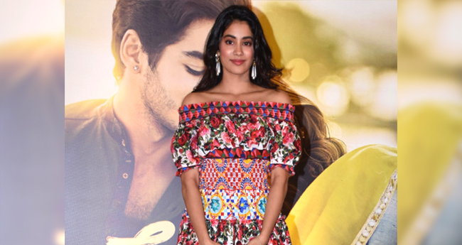 Janhvi Kapoor's Dhadak Promotional Dress Is Too Expensive For A Common Man To Afford