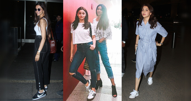 Ditching Stilettos, Bollywood Divas Are Now Finding Love In Sneakers