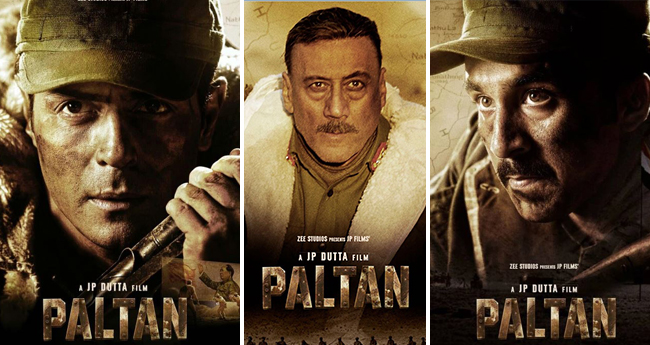 JP Dutta's Paltan's Posters Released, Meet The Central Characters Of The Films