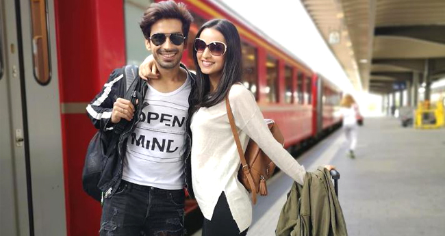 Sanaya Irani and Mohit Sehgal Recreating The Switzerland Moment Of DDLJ