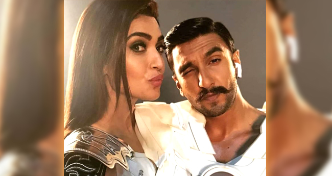 Karishma Tanna Deletes The Picture Of Her Shoot With Ranveer Singh That She Leaked By Mistake
