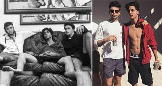 After Family Vacation, SRK's son Aryan Khan Is Back To His Bois