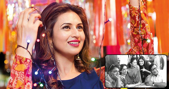 Divyanka Tripathi Shared A Black And White Photo From Set Of Yeh Hai Mohabbatein