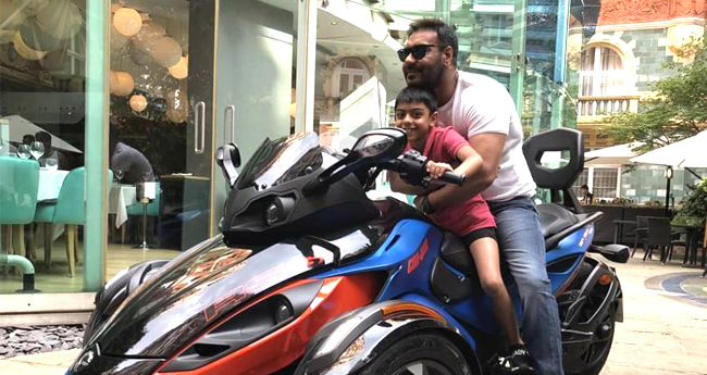After Workout Video, Ajay Devgn's Son Yug Catches Our Attention For His Picture On Mean-Machine