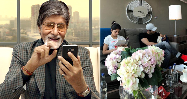 Amitabh Bachchan Shares Pictures, Says 'Family That Mobiles Together, Stays Together'