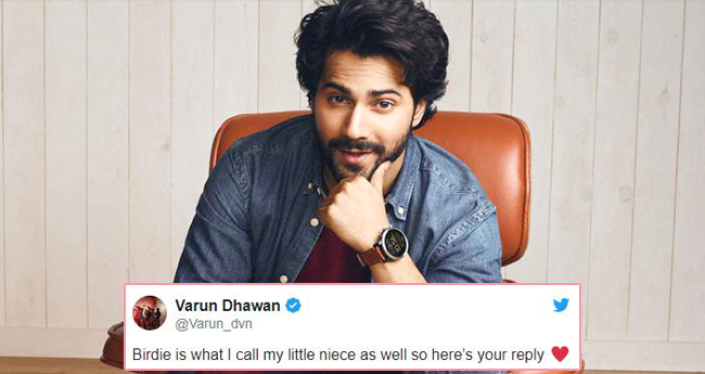 #Varunsays: Varun Dhawan Plays Well And Gives Answers To Each Question People Asked