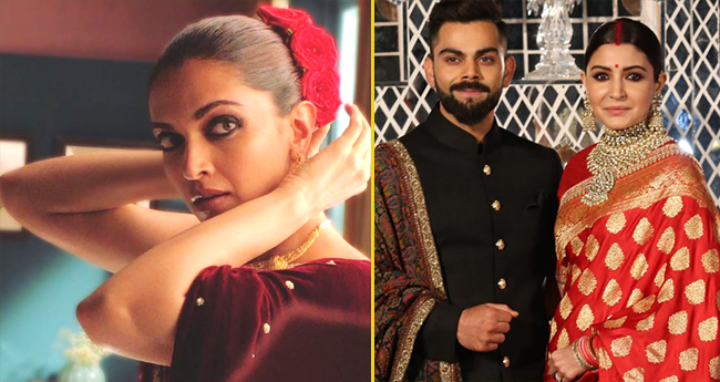 Deepika Padukone's Vintage Look Reminds People Of Anushka Sharma At Her Engagement
