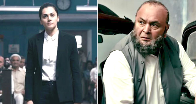Mulk Trailer: Rishi Kapoor and Taapsee Pannu's Courtroom drama to get Justice is Mind Blowing