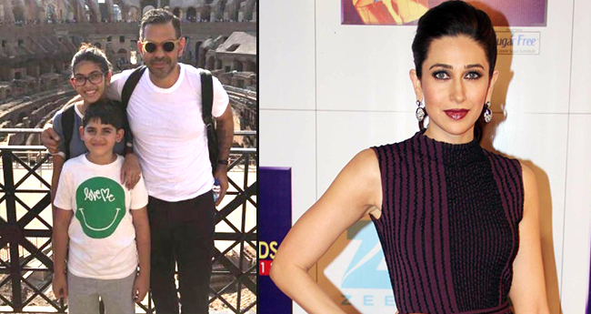 Karisma Kapoor's Kids After London Vacation With Her Joins Dad Sunjay Kapur In Rome