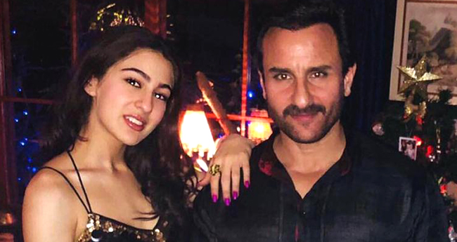 Sara Ali Khan To Sign Her Next Film With Daddy Saif Ali Khan