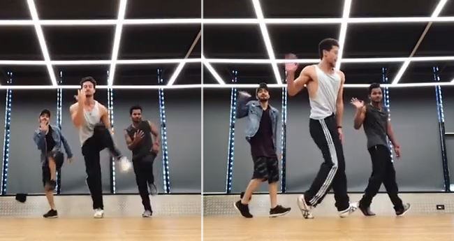 Tiger Shroff Dances On Salman Khan's Song 'Aksa Beach' And It Is Ming Blowing