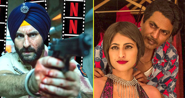 Twitteratis Excited For Sacred Games, Demands Season 2 Of The Show