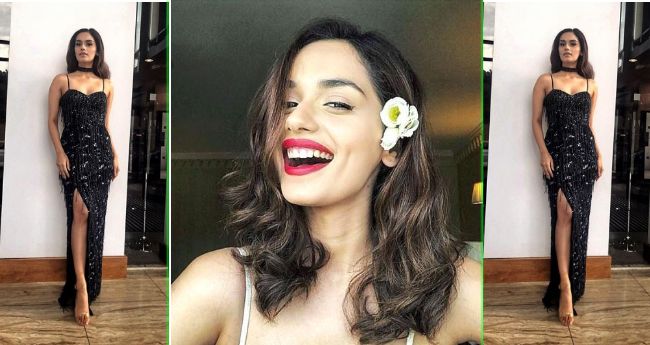 Manushi Chhillar Is The Fan Of LBD And These Pictures Are The Proof