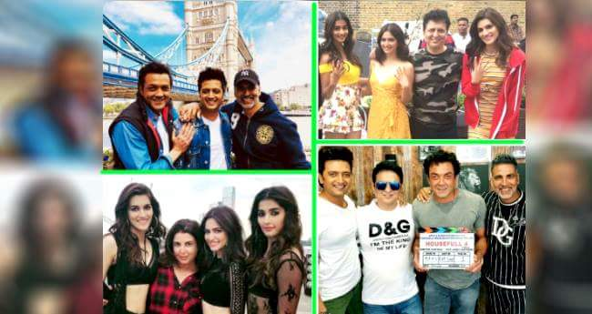 Houseful 4: Shooting Of First Schedule Of The Film Completed In London
