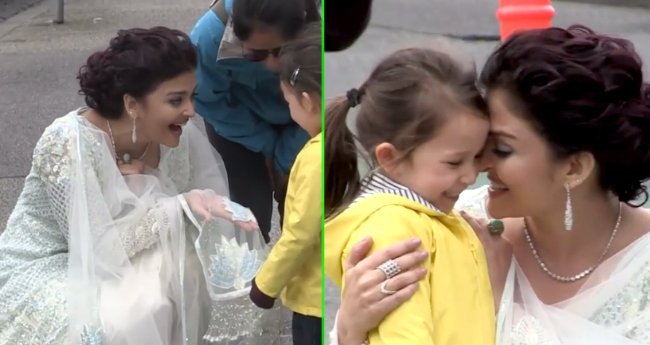 Aishwarya Rai Bachchan Meeting a 4 YO Fan In A Throwback Video Is So Cute