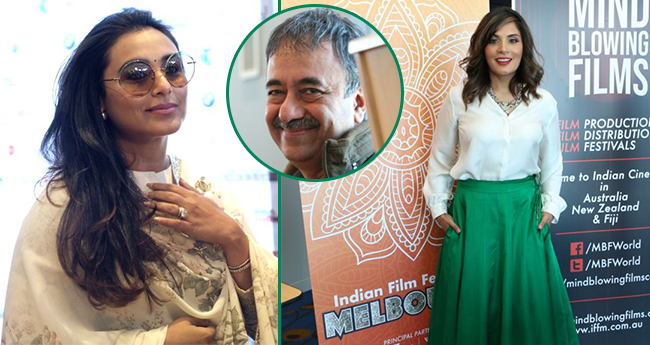 Rani Mukherjee, Rajkumar Hirani Among Others Attend Indian Film Festival of Melbourne