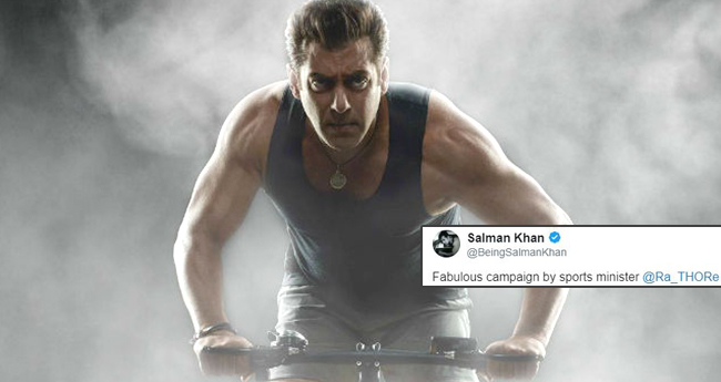 Salman Khan Joins Hum Fit Toh India Fit Challenge After Two Months, Proves Nothing Is Impossible