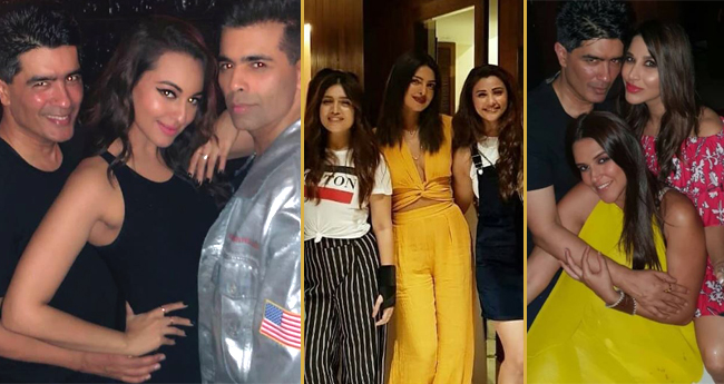 Manish Malhotra Hosted A House Party And It Was A Happening One