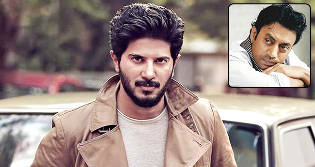 Dulquer Salmaan On Co-star Irrfan Khan, He Is Very Much Actively Supporting And Promoting The Film