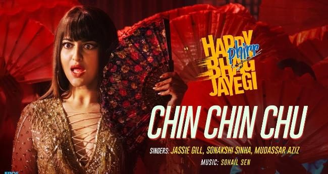 Happy Phirr Bhag Jayegi's new song is a reprise version of Mera Naam Chin Chin Chu
