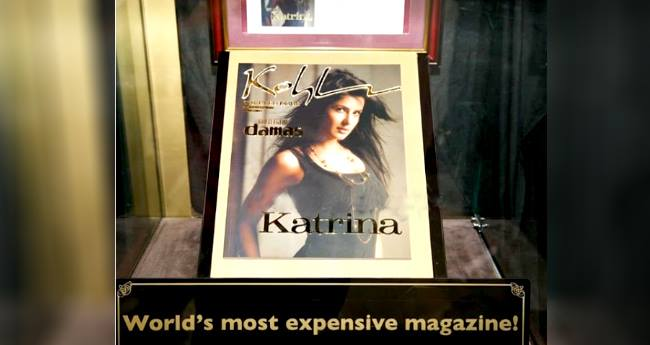 Katrina Kaif Graces On The Cover Of World's Most Expensive Magazine