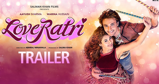 Aayush Sharma's Film Loveratri's Trailer Is All About Nine Nights Of Garba