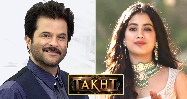 Janhvi Kapoor And Anil Kapoor All Set To Share Screen Space In Karan Johar's Takht