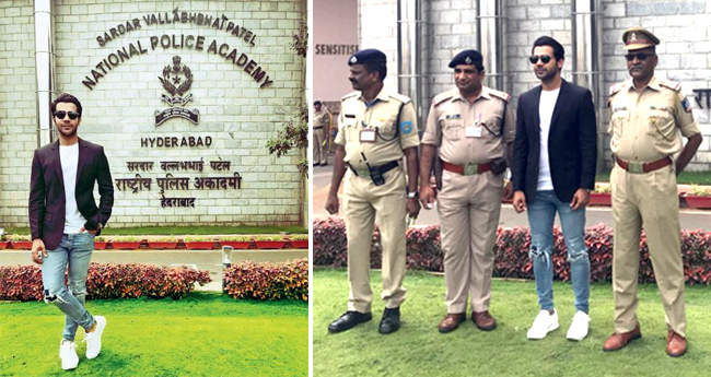 Rajkummar Rao Thanks True Heroes Of Our Country As He Visits National Police Academy