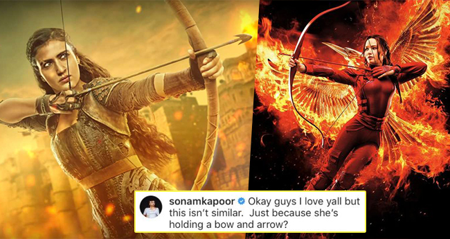 Fatima Sana's Look From TOH Compared With Jennifer Lawrence's Hunger Games, Sonam Kapoor Defends