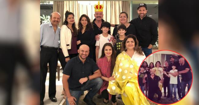 Rakesh Roshan Celebrated His 69th Birthday With The Whole Roshan Family