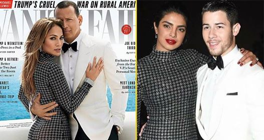 Recent look of Priyanka and Nick was inspired by Jennifer Lopez and her beau