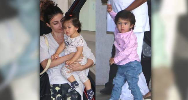 Taimur And Inaaya Gather For A Playdate Looking All Kinds Of Cute