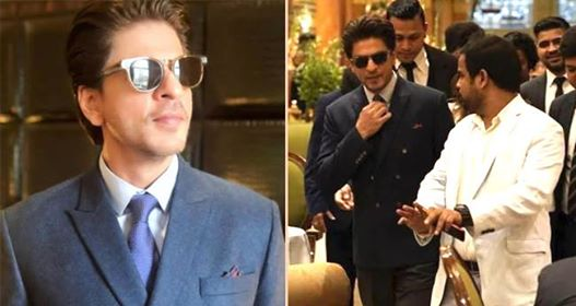 King Khan Aka SRK gets felicitated at India-UK Business summit in London