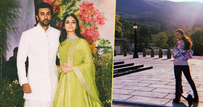 Alia Turns Ranbir's Muse Yet Again, The Actor Clicks Sun-kissed Picture Of Presumed Ladylove