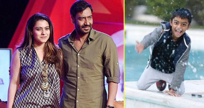 Kajol And Ajay Devgn's Birthday Wish For Son Yug Is Way Too Adorable
