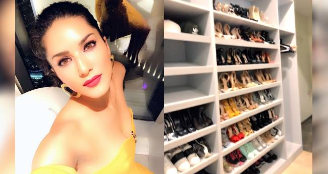 Sunny Leone's Shoe Wardrobe Is A Dream For All Of Us