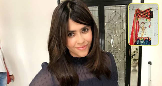 Ekta Kapoor Shared A Glimpse Of Komolika's Clothes Making Us Eager For The Show