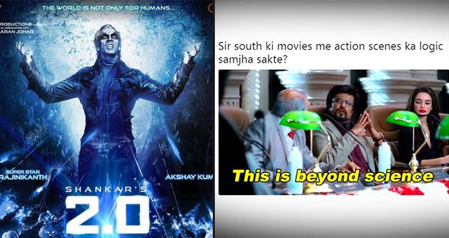 Netizens Amused By Akshay-Rajinikanth's 2.0's Teaser, Takes Hilarious Jibes On It