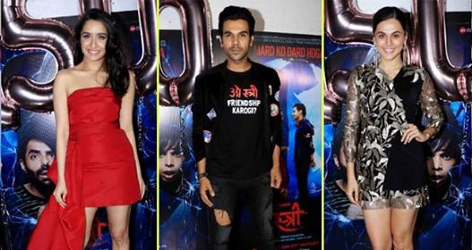 Stree Celebrated Its Success Party With Rajkummar, Shraddha and Other Celebs