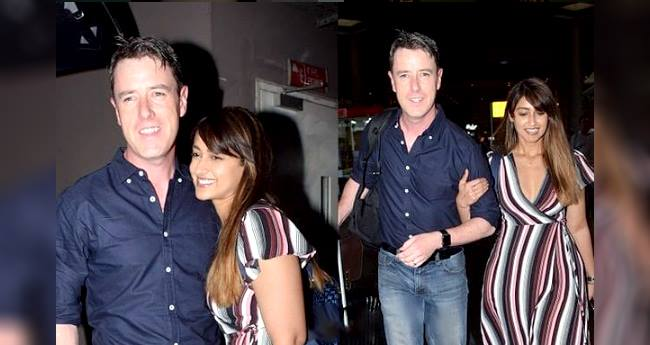 Much In Love Couple, Ileana D'Cruz And Andrew Kneebone Walked Hand In Hand At The Airport