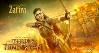 Fatima Sana Sheikh's Fierce Look From Thugs Of Hindostan's Motion Poster Is Intriguing