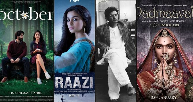 Raazi, Padmaavat, Manto, And October Among Other Movies Are Contending For Oscars 2019