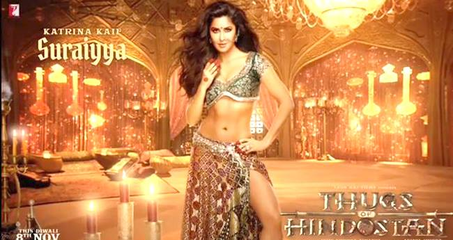 Thugs Of Hindostan Motion Poster: Katrina Kaif As Suraiyya Leaves Us Awestruck With Her Beauty