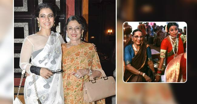 Kajol Shares A Throwback Picture Of Her Mother Tanuja As Turns 75 Today