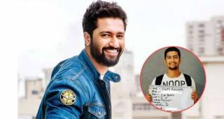 Vicky Kaushal shared an unrecognisable throwback pic from his audition days