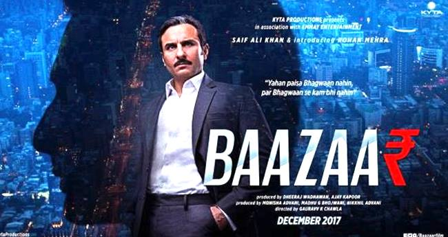 Saif Ali Khan's Upcoming Movie Baazaar's Trailer To Be Launched On A Grand Scale
