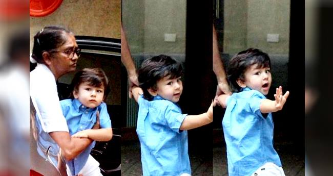 Waving Back At Paparazzi, Taimur Ali Khan Has Bonded With Them Over Time