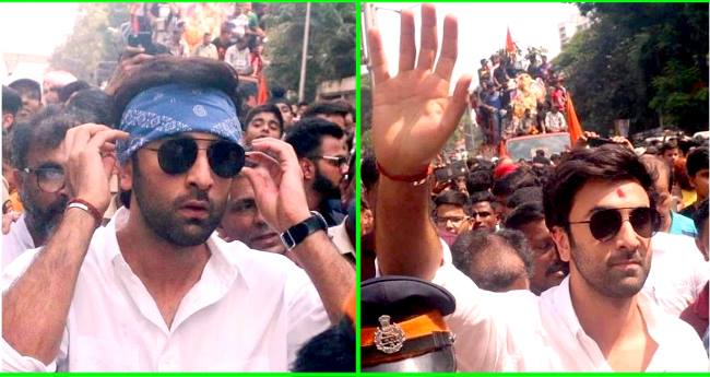 Ranbir Kapoor And Family Bids Adieu To The Last Ganpati Of RK Studio